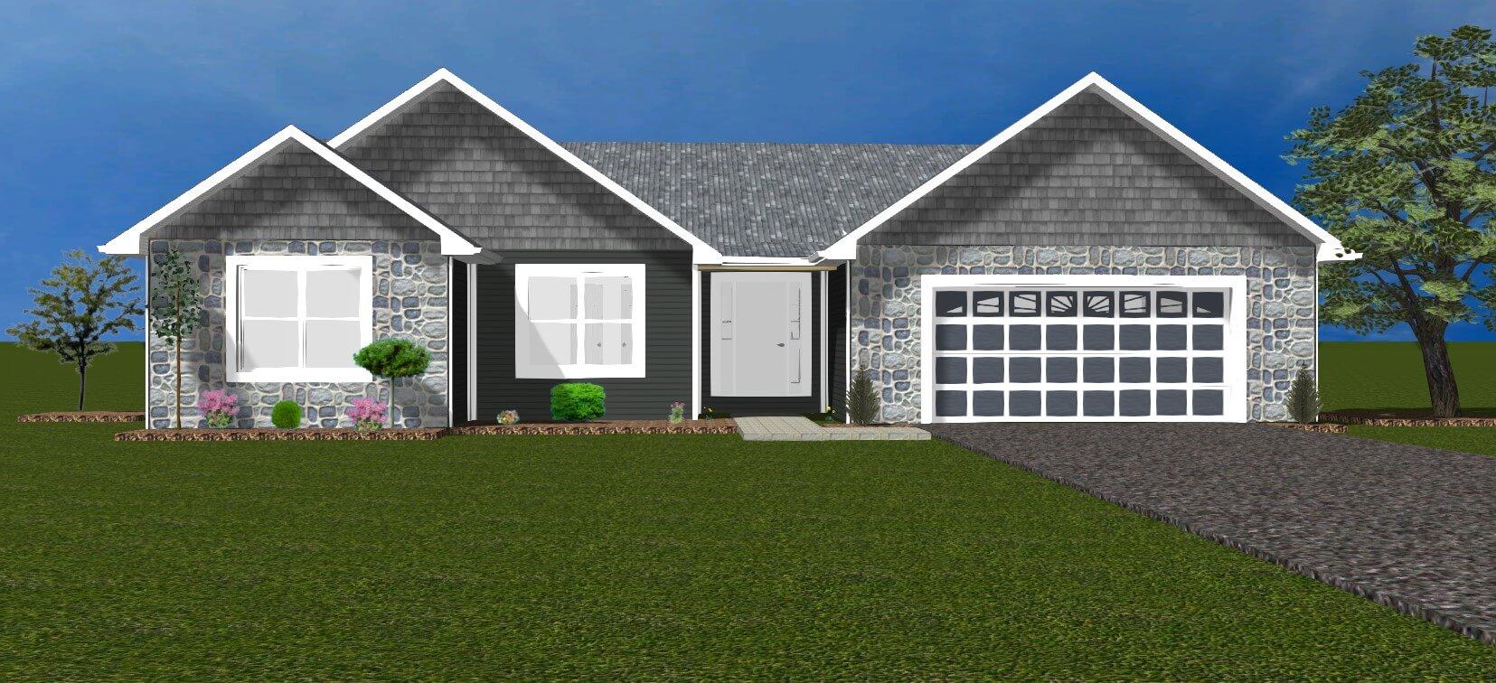 Home floor plans Ellettsville - Kaylynn Front