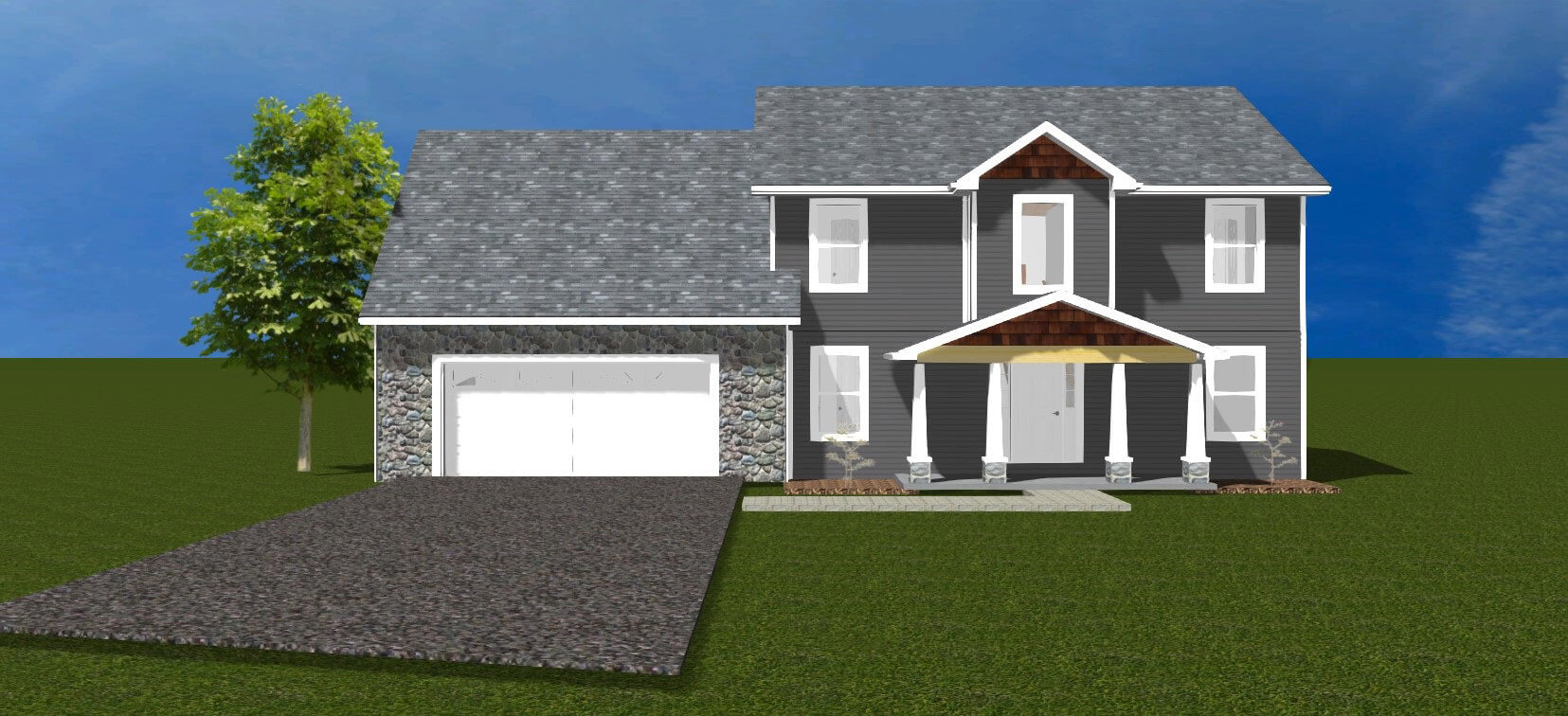 Home floor plans in Bloomington - Kingstone Front