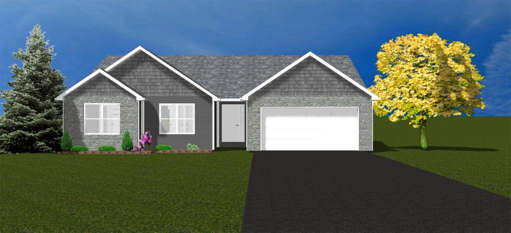 Authentic Homes Inc - Bloomington and Ellettsville Custom Home Builder - Floor Plans - Brynlee